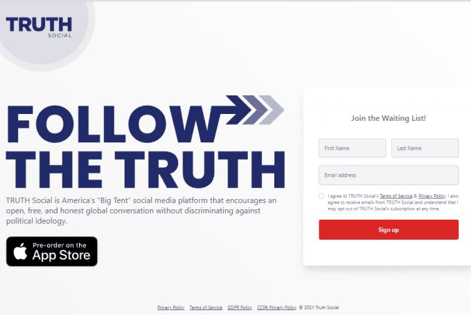 Donald Trump to launch Social media App TRUTH Social