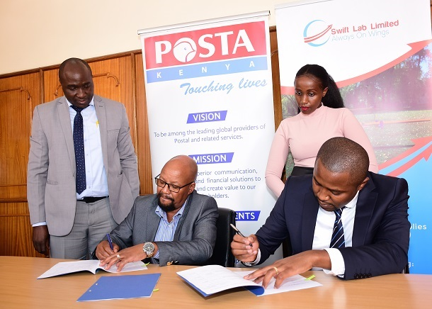 Posta Kenya partners with Swift Lab to pilot drone delivery