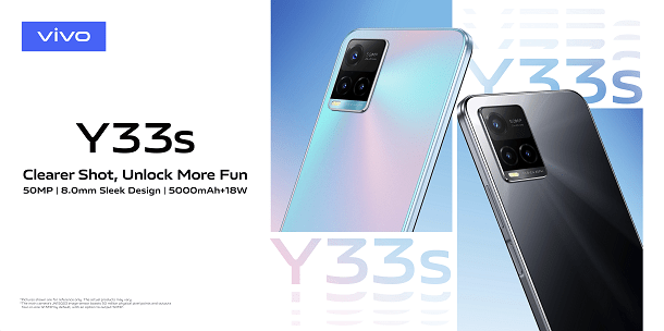 vivo Y33s launched in Kenya – features 50MP Rear Camera